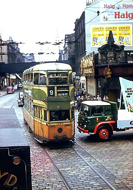 Glasgow Tram 1962
